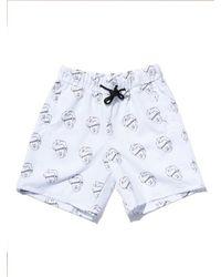 OVERR [unisex] Senancour White Pants for men