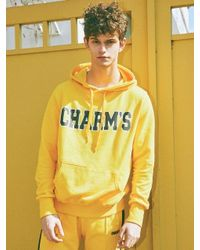 Charms - [unisex] Bold Logo Hoodie Yellow for Men - Lyst