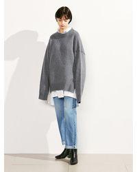 VOIEBIT Multicolor [unisex] V122 Retro Slim Wide Jeans
