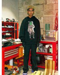 W Concept Black [unisex]astronaut Hoodie