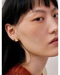 Low Classic Metallic 17fw Earlobe Earring