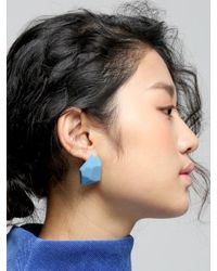 VON DITOLE - Multicolor Celebrate Blue Earrings - Lyst