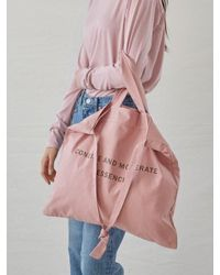 W Concept - Essence Eco Bag_indipink - Lyst