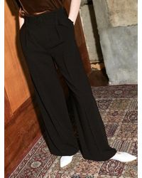 COLLABOTORY Brown Bacma6005m Belted Wide Pants