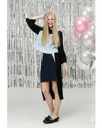 ETHRICA Multicolor Slit Long Skirt