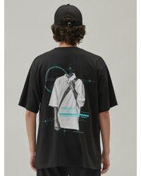 Add Black Shirt Graphic B T-shirt for men