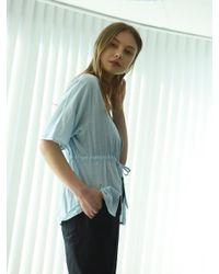 W Concept - Summer Cardigan Sky Blue - Lyst