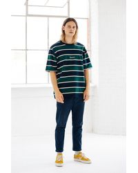 we are bound Multicolor Royal Stripe Tee for men