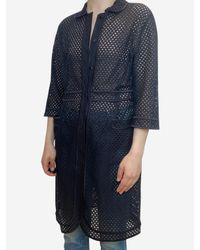 La Perla Black Eyelet Shirt Dress