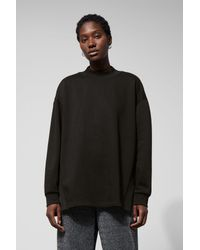 Weekday Black Orchid Sweatshirt
