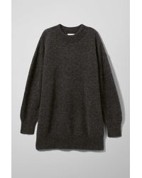 Weekday Black Shea Sweater