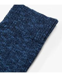 Norse Projects Blue Ebbe Thick Wool Sock for men