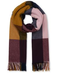 Whistles Multicolor Modern Check Blanket Scarf