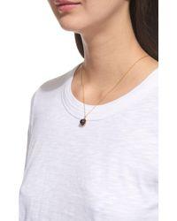 Whistles Metallic Marble Sphere Necklace