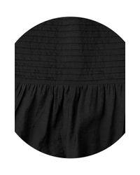 Whistles Black Simone Sun Dress