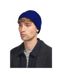 Whistles - Blue Mernio Wool Beanie for Men - Lyst