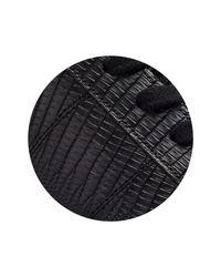 Whistles Black Koki Modern Lace Up Trainer