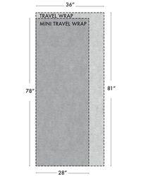 White + Warren - Blue Mini Cashmere Travel Wrap - Lyst