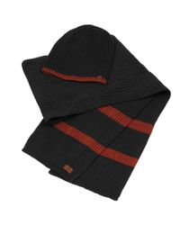 Wilsons Leather - Black Timberland Hat-scarf Set for Men - Lyst