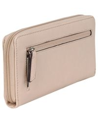Wilsons Leather Multicolor Nine West Federica Zip Around Faux-leather Wallet