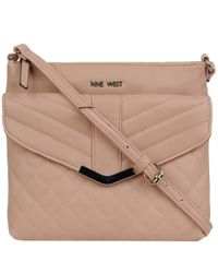 Wilsons Leather - Multicolor Nine West Vallea Faux-leather Crossbody - Lyst