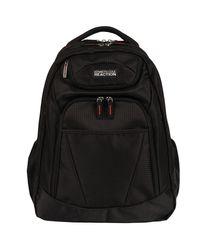 Wilsons Leather Black Tribute Backpack for men