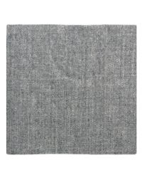 Wilsons Leather - Gray Famous Maker Solid Woven Scarf - Lyst