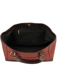 Wilsons Leather Black Madison Leather Tote