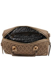 Wilsons Leather - Black Marc New York Lace Perforated Faux-leather Barrel Satchel - Lyst