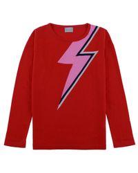 ORWELL + AUSTEN Bowie Sweater In Red