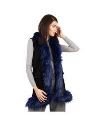 The Extreme Collection Black Vest Gabriella