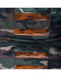 Sprayground Multicolor Camo Led Bag To The Future for men