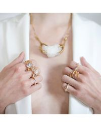 Tessa Metcalfe | Metallic The Pearl Of London With Gold Nails | Lyst