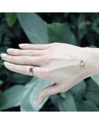 KAMENA JEWELLERY Metallic Stones Bracelet Brass Shiny