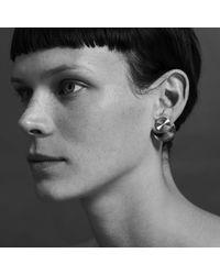aka jewellery - Metallic Orbit Double Sided Earrings - Lyst