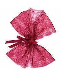 Fréolic London Brigitte Gown Metallic Red