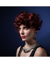 Cara Tonkin - Metallic Vesper Interchangeable Full Swing Bracelet Necklace Silver & Oxidised - Lyst