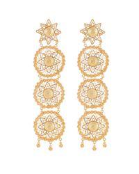 Vanilo - Metallic Amaya Earrings - Lyst