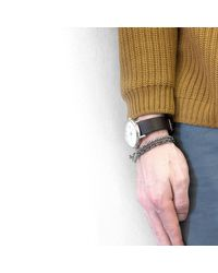 Anchor & Crew - White Noir Belfast Rope Bracelet for Men - Lyst