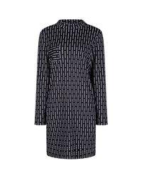 Rachel Mcmillan | Black Monochrome Slouch Dress | Lyst