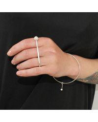 Dorota Todd - Metallic Karina Ring Silver - Lyst