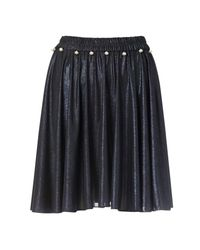Supersweet x Moumi - Blue Space Navy Bop Skirt - Lyst