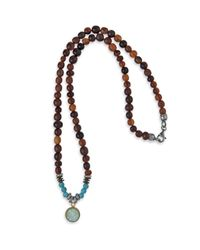 Platadepalo - Multicolor Classic Necklace Buffalo Horn & Turquoise - Lyst