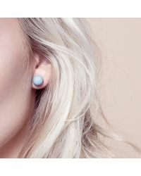 Hring Eftir Hring - Black Pirouette Coal Earrings - Lyst