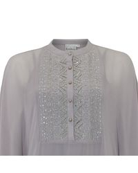 Raishma - Gray Mauve Maya Kaftan Dress - Lyst