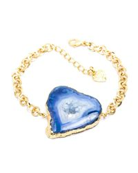 Tiana Jewel - Savannah Blue Bracelet Zahara Collection - Lyst