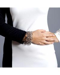 Manja - Metallic Signature Extra Long Necklace - Lyst