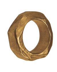 Linnie Mclarty - Metallic Monsta Gold Ring - Lyst