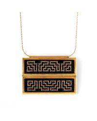 Delacruz - Metallic Palenque Gold - Lyst