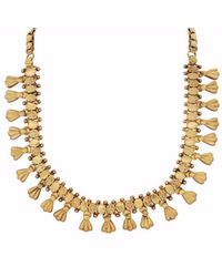 Carousel Jewels - Metallic Antique Intricate Necklace - Lyst